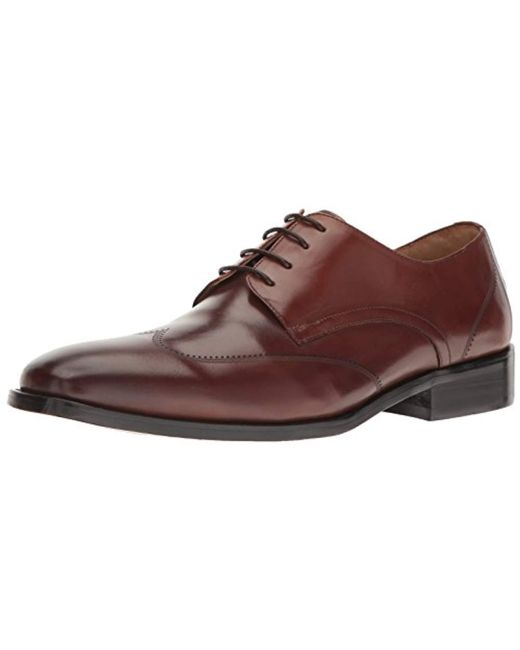 Kenneth Cole Brown Leisure-wear Oxford for men