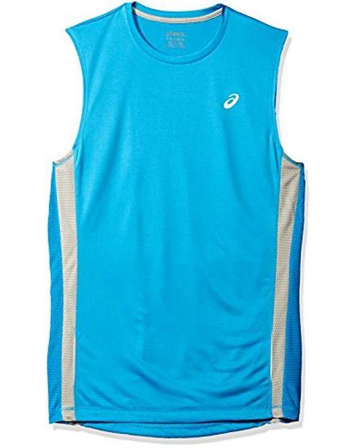 Asics - Blue Shori Muscle Performance Shirt Mr0820 for Men - Lyst