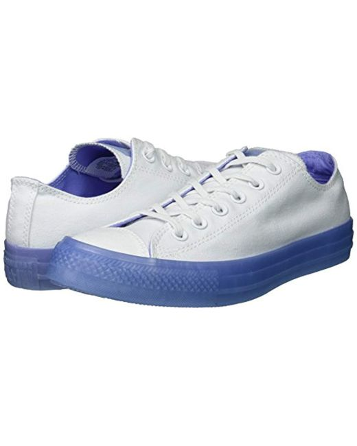 ... Converse - White Chuck Taylor All Star Candy Coated Low Top Sneaker -  Lyst ... 160319b914c6