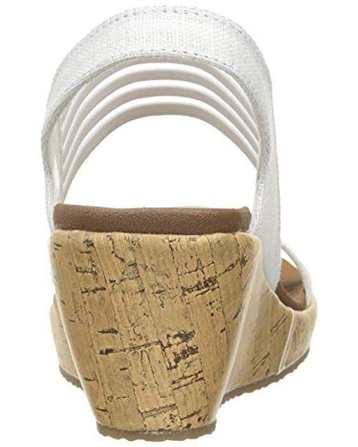 Wedge Skechers In Kitten Lyst Cali Smitten Beverlee White Sandal FqdXwZ
