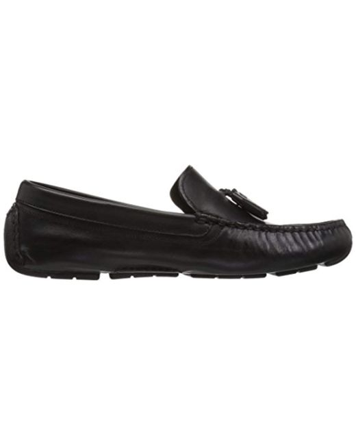 04ba3142d00 Lyst - Cole Haan Rodeo Tassel Driver Loafer in Black - Save 21%
