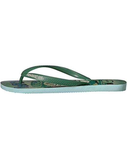 1ce695251 ... Havaianas - Green Flip Flop Sandals