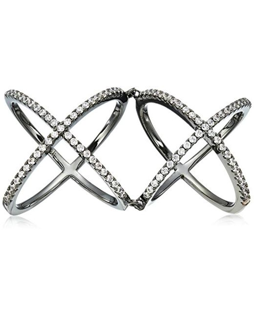 Noir Jewelry - Multicolor Eltham Hinge Ring - Lyst