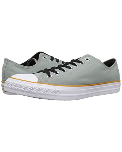 64212330c9604 Men's Chuck Taylor All Star Color Blocked Low Top Sneaker, Mica  Green/turmeric Gold/white, 7 M Us