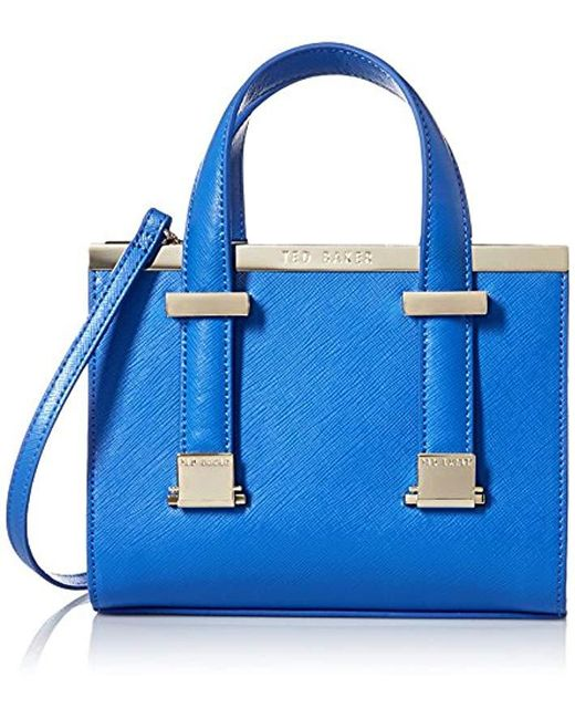 Ted Baker - Blue Xa5w Xbg9 Minibet Cross Body Bag - Lyst