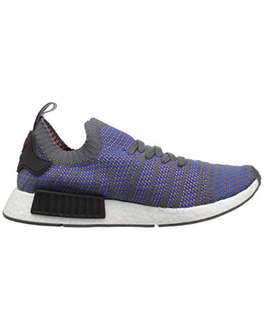 bf9aa1594b43c Men's Blue Nmd_r1 Stlt Pk Running Shoe