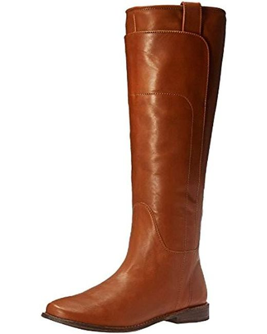 Frye - Brown Paige Tall Riding Boot - Lyst