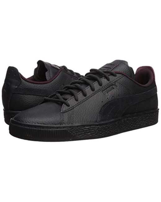 new products f1112 b7eb5 Men's Black Ferrari Basket Sneaker