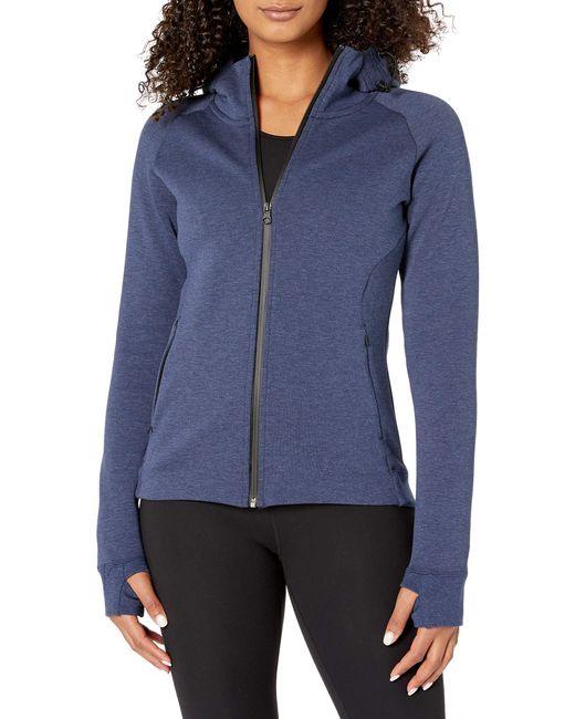 Core 10 Blue Motion Tech Fleece Fitted Full-zip Hoodie Jacket