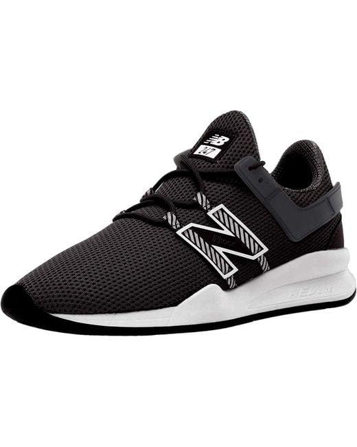 New Balance Leather Shoes, Colour Black, Brand, Model Shoes Ms247 ...