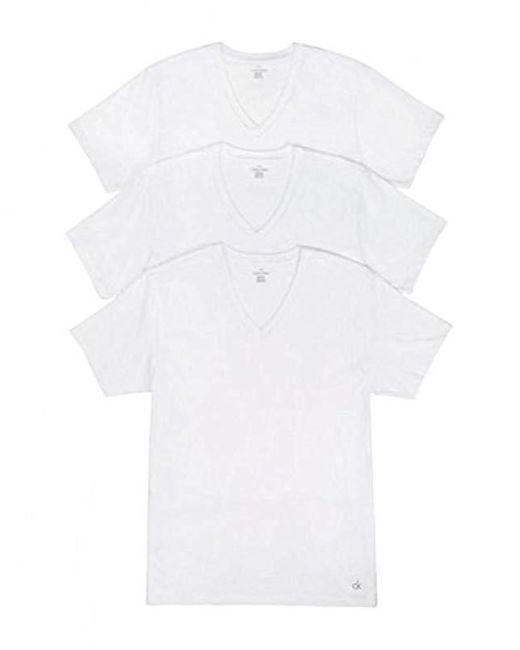 Calvin Klein White Underwear Cotton Stretch Trunks for men