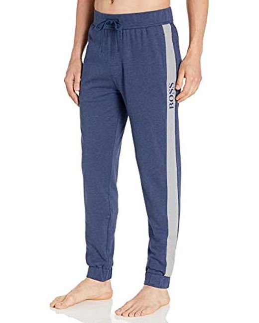 BOSS Blue Contemporary Lounge Pants for men