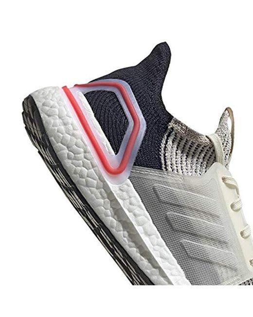 1b7b2a17261f8 ... Adidas - White Ultraboost 19 for Men - Lyst ...