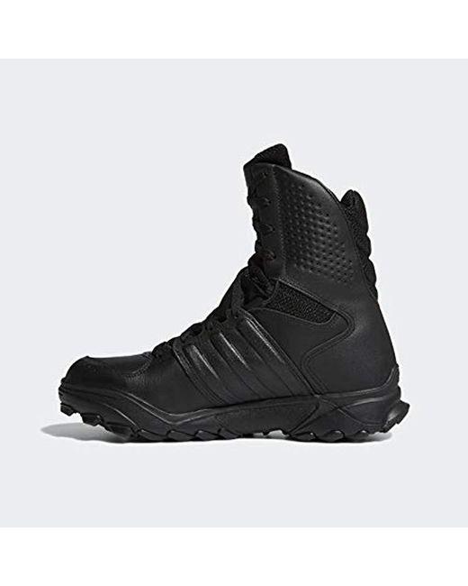 adidas Leather Gsg 9.2 Training Shoe in BlackBlackBlack