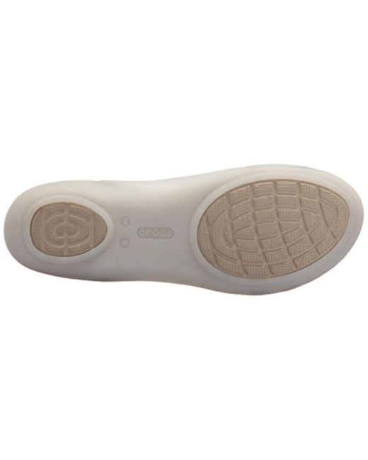 fce75569c4220 ... Crocs™ - Multicolor Isabella Huarache 2 Flat W Sandal - Lyst ...