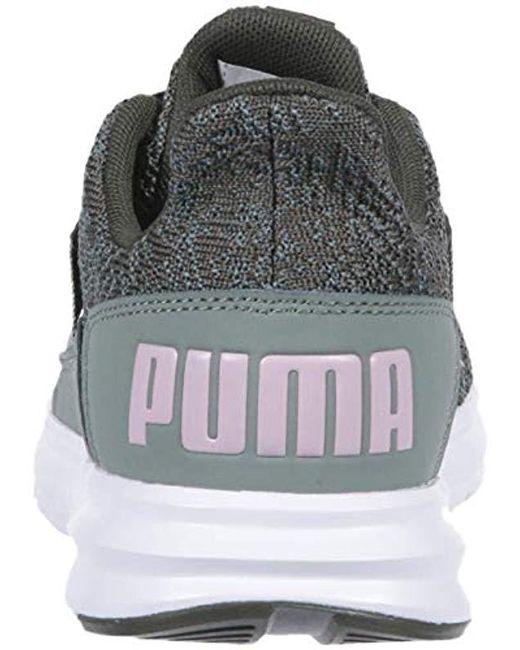 af1c5185e60824 ... PUMA - Multicolor Enzo Street Knit Interest Sneaker - Lyst ...