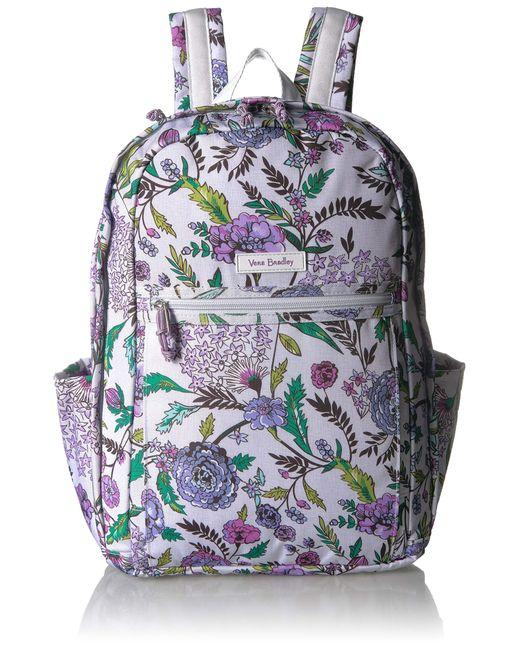 Vera Bradley Multicolor Lighten Up Grand Backpack