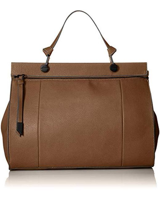 Foley + Corinna Brown Slumber Nights Large Dione Satchel