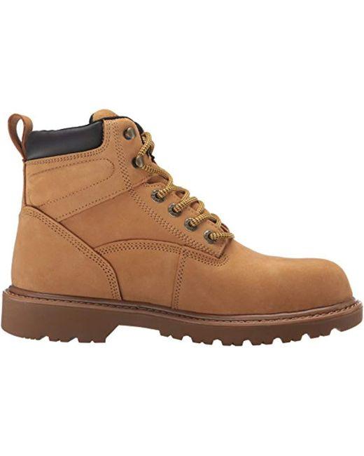 edc79ffd812 Men's Brown Floorhand 6 Inch Waterproof Soft Toe Work Shoe
