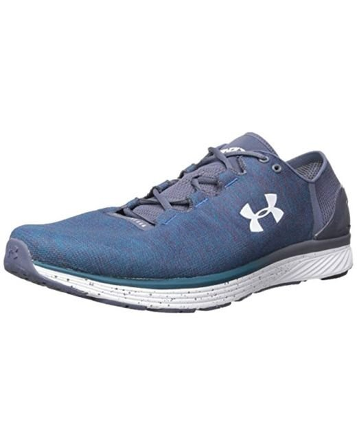 Under Armour Blue Charged Bandit 3 Running Shoes for men