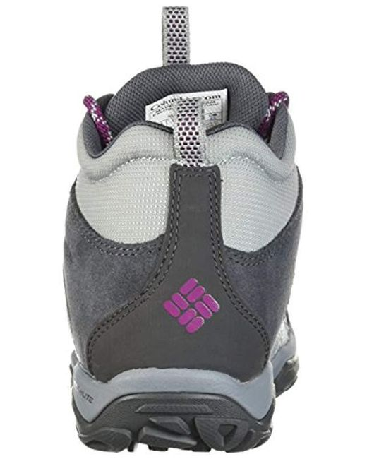 6396a306196 Women's Gray Fire Venture Mid Textile Hiking Boot