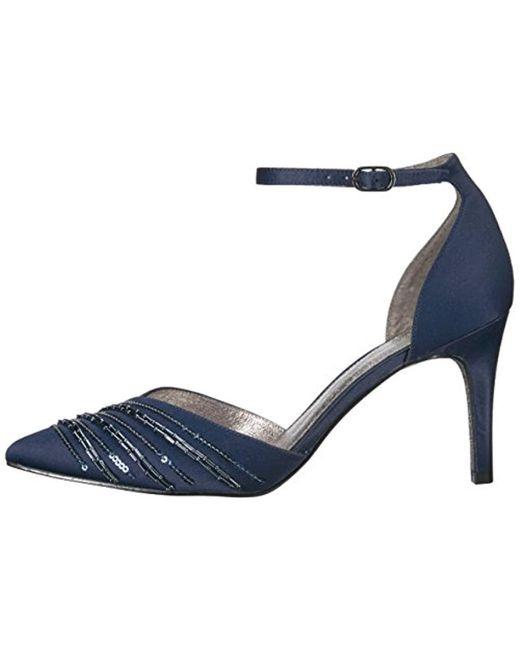 dd8bd7b9608 Lyst - Adrianna Papell Helma Pump in Blue - Save 0.7751937984496067%