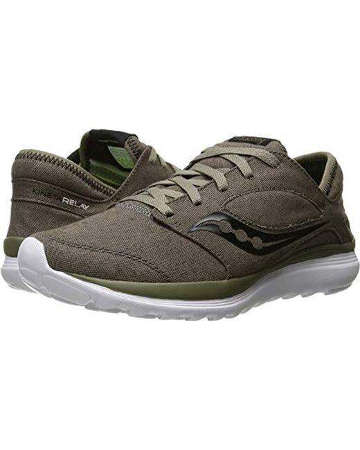 Saucony Brown Kineta Relay Running Shoe for men
