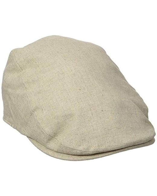 Dockers - Natural Ivy Newsboy Hat for Men - Lyst ... c3a142dd49f8