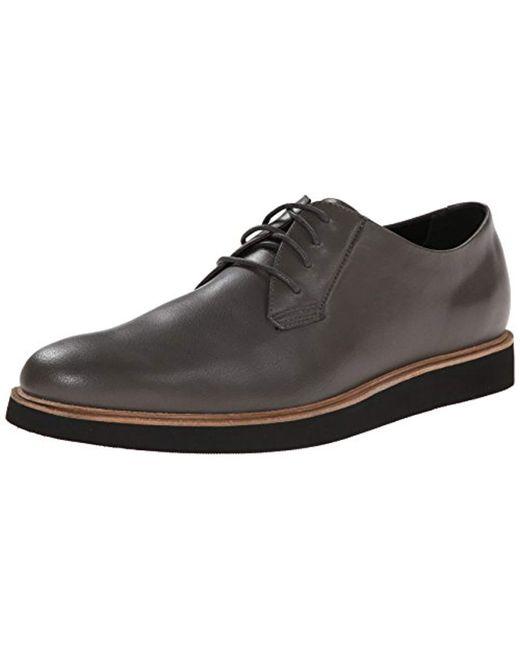 e42fbc74e80e Lyst - Calvin Klein Tate Burnished Calf Oxford in Black for Men ...
