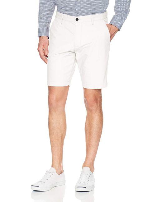 Dockers White Slim Fit Short for men