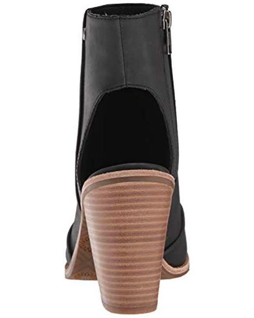4219159e0aa Women's Black W Valencia Peep Toe Heeled Sandal