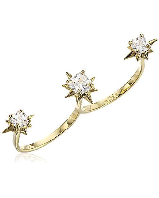 Noir Jewelry - Metallic Phecda Ring - Lyst