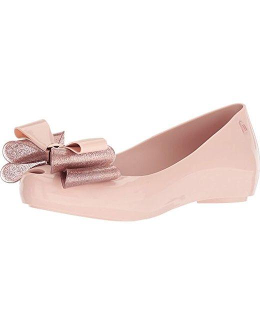 Melissa - Pink Ultragirl Sweet Xii Ballet Flat - Lyst