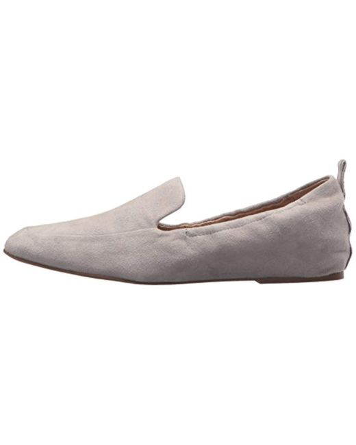47698036fd1d Steven by Steve Madden Darsha Loafer Flat in Gray - Save 35% - Lyst