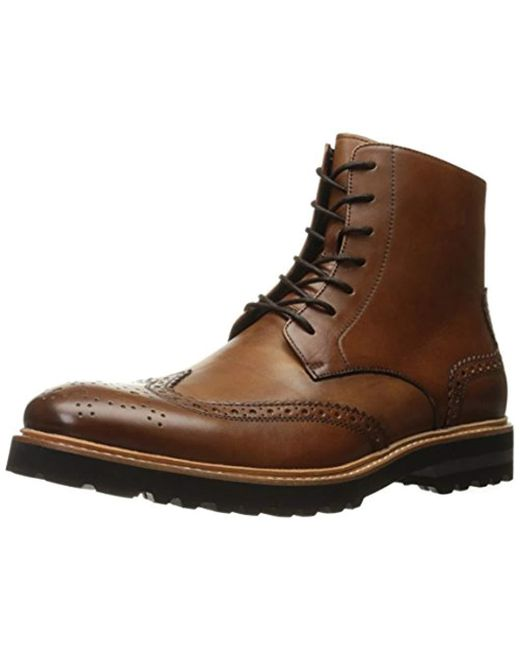 Kenneth Cole - Brown Click Sound Combat Boot for Men - Lyst
