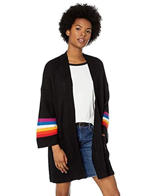 Volcom - Bah Cardigan (black) Women's Sweater - Lyst