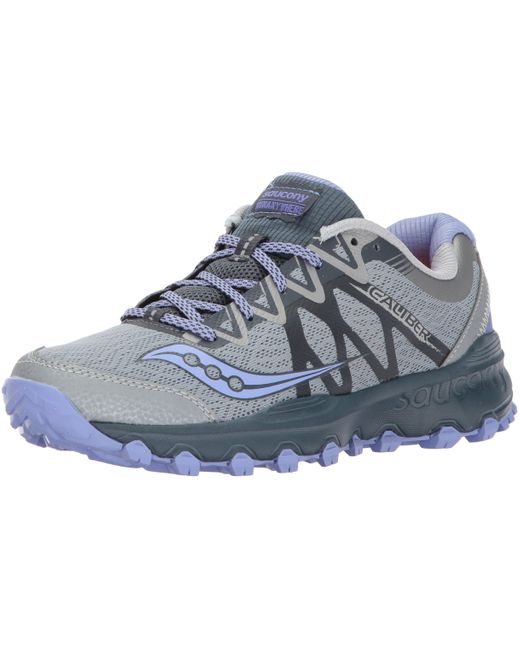 Saucony Gray Caliber Tr Running Shoes