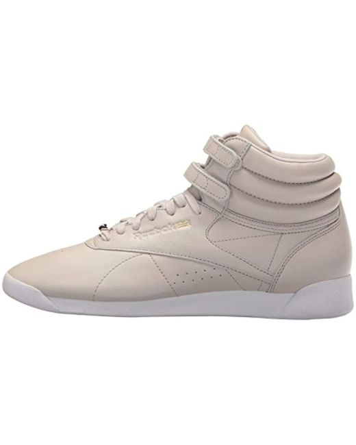 9c50a231deee ... Reebok - White F s Hi Muted Walking Shoe - Lyst ...