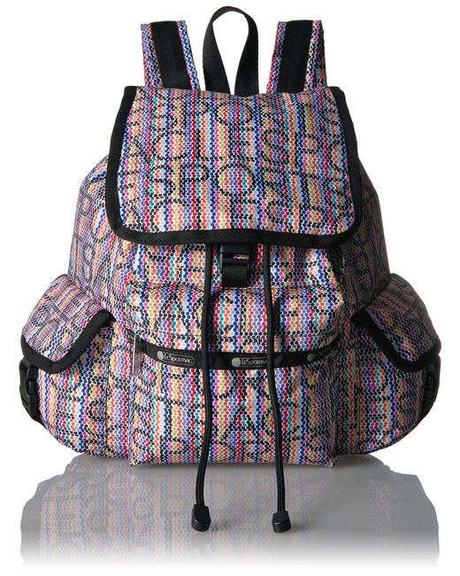 LeSportsac Multicolor Classic Voyager Backpack