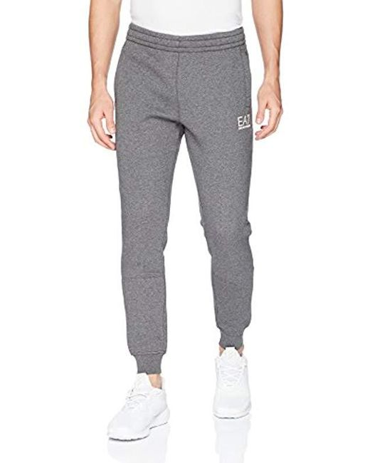 Emporio Armani Gray Ea7 Train Core Slim Joggers for men