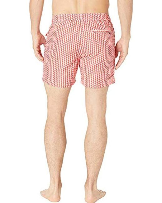 619474a1742ae ... Onia - Multicolor Charles 5 Inch Solid Swim Trunk for Men - Lyst