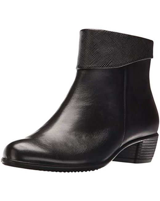 Ecco - 's Touch 35 Ankle Boots, Black - Lyst