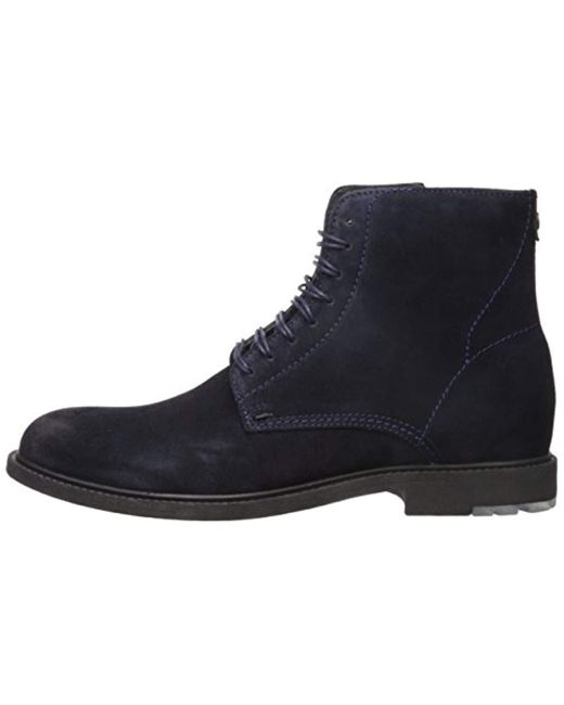 ca3271a4d07f ... BOSS - Blue Boss Orange Cultural Roots Suede Half Boot Fashion for Men  - Lyst ...
