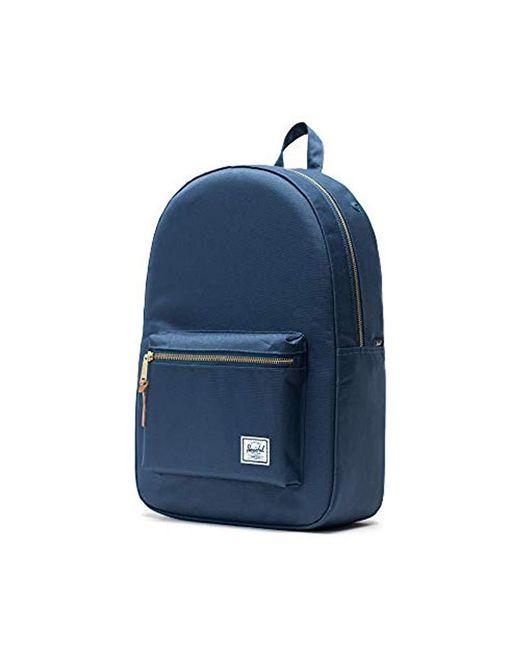 afec5f02bf3 Lyst - Herschel Supply Co. Settlement Backpack in Blue for Men - Save 2%
