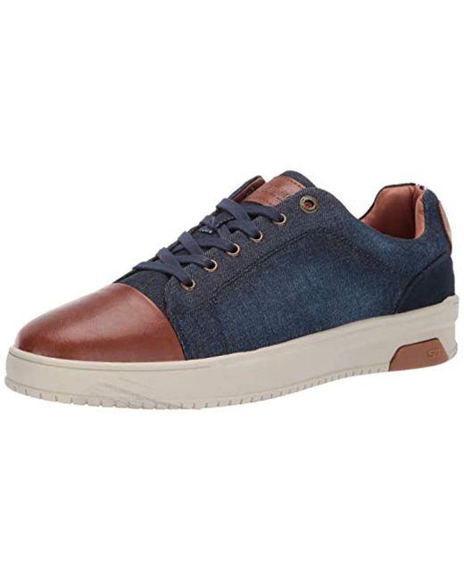a0859a9c2ec Steve Madden - Blue Renigaid Sneaker for Men - Lyst ...