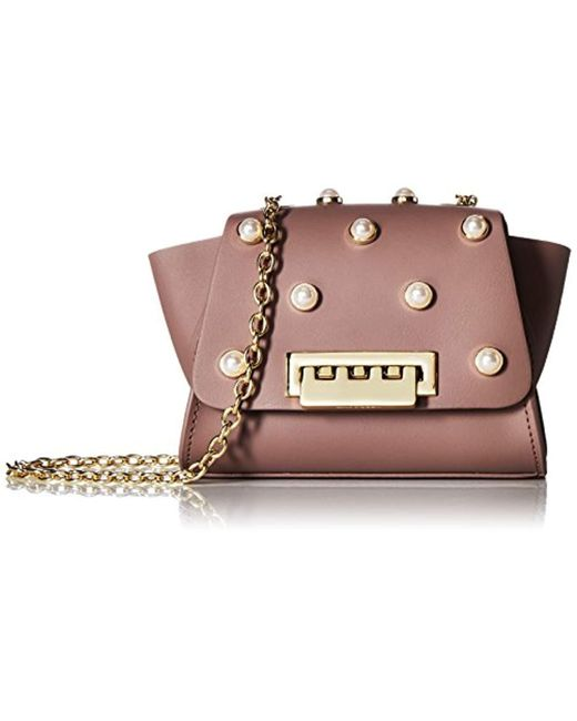 Zac Zac Posen Multicolor Eartha Mini Chain Crossbody-stone W/pearls