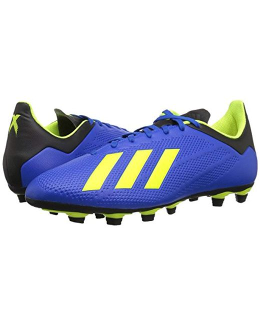 competitive price d7e8b a4553 Men's Blue X 18.4 Firm Ground Soccer Shoe