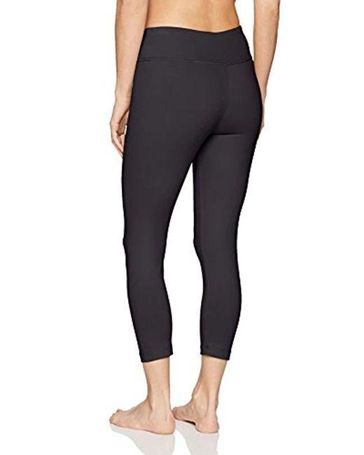 5e8376c8a0e20 ... Danskin - Black Signature Yoga Capri Legging - Lyst