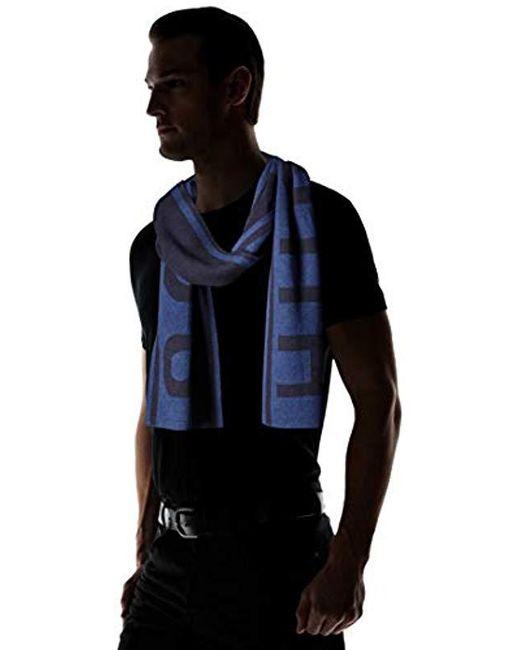 461cdb88 ... BOSS - Blue Ebrami Knitted Cap for Men - Lyst