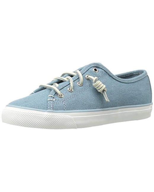 Sperry Top-Sider - Blue Seacoast Waxy Fashion Sneaker - Lyst